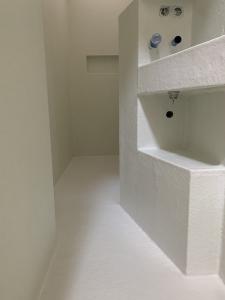 polyester badkamer glasvezel mat